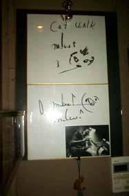 Miles Daves氏のサイン